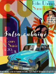 Samedi  ✨  Rétro Dancing ~ Salsavista
