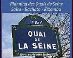 Vendredi ✨ Danser la salsa, la bachata et la Kizomba sur les Quais de Seine